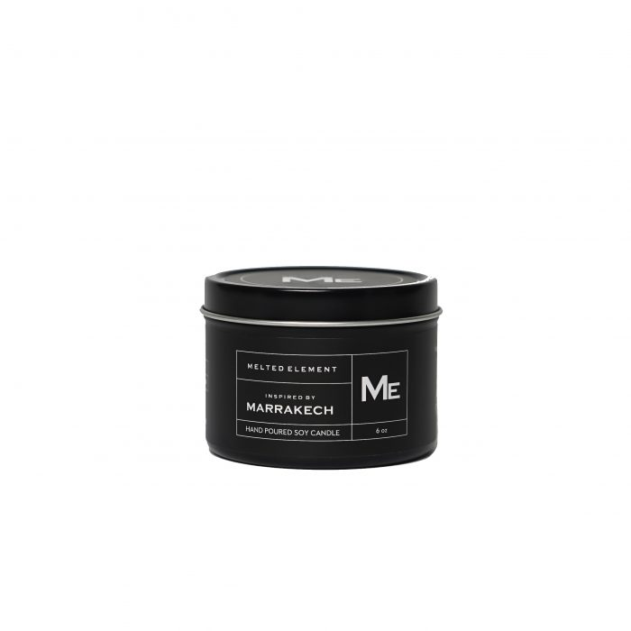 Melted Element Travel Marrakech Candle Black